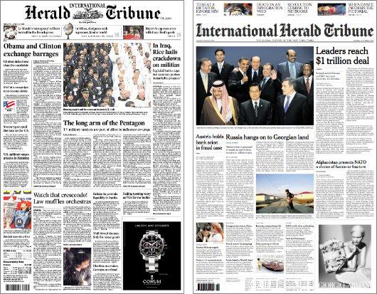 international herald tribune newspaper pdf