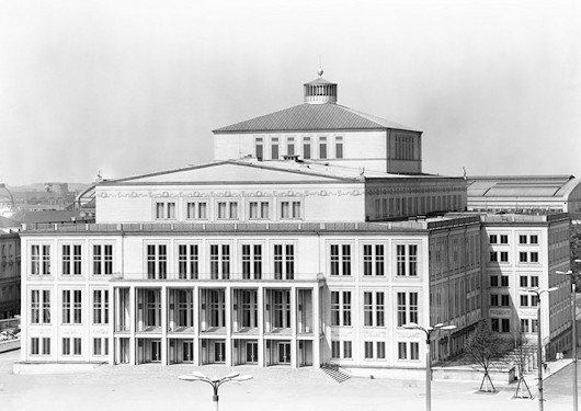 Leipzig Opera House Andrewcusack Com