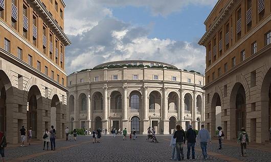 Architecture classique euro synergies for Architecture classique