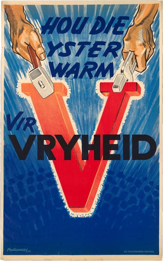 V For Victory En Vryheid Andrewcusack