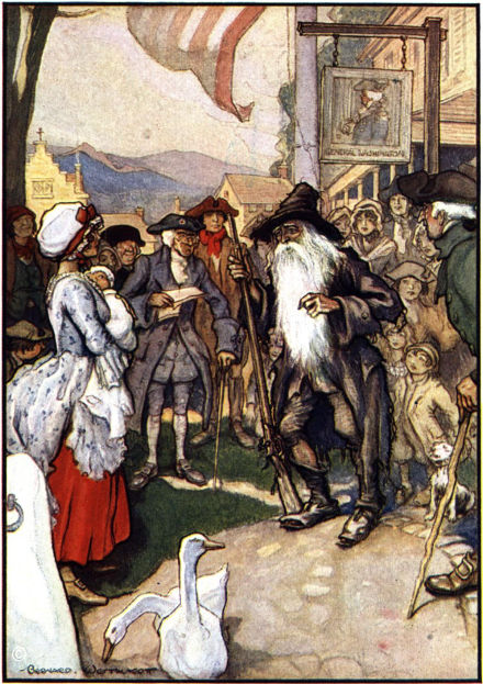 a reading report on rip van winkle by washington irving Washington irving lesson plans and teaching ideas  washington irving biography,  the legend of sleepy hollow, rip van winkle,  the specter bridegroom, and .