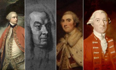 James Murray, Lord Mansfield, Lord Shelburne, Lord Dorchester